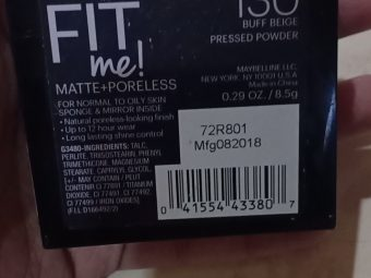 Maybelline Fit Me Matte And Poreless Powder pic 3-Worth buying-By innaya_jabin