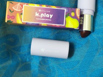 MyGlamm K.PLAY FLAVOURED LIPSTICK – CHERRY BURST -Perfect Finish-By haripriya_b