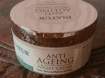Inatur Anti-Ageing Night Cream -Wakes up with healthy skin every morning-By thekardashiancl