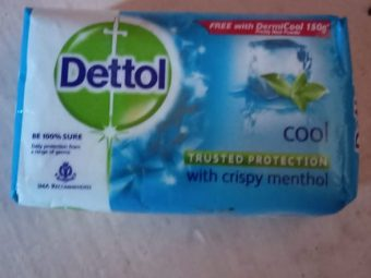 Dettol Cool Soap -Very fresh and protects from germs-By nidzzz
