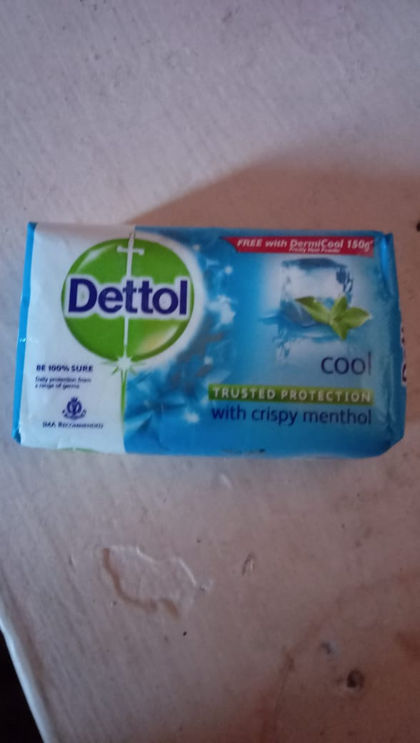 Dettol Cool Soap-Very fresh and protects from germs-By nidzzz