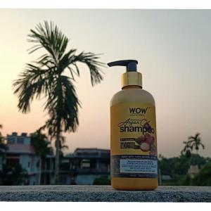 WOW Skin Science Moroccan Argan Oil Shampoo -Best curly hair shampoo-By garima.sharma28