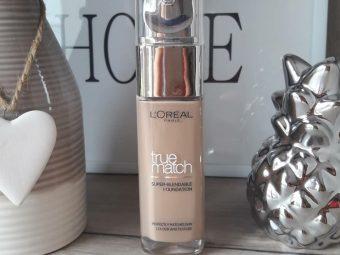 L'oreal Paris True Match Super Blendable Makeup Liquid Foundation pic 3-Medium coverage blendable foundation-By garima.sharma28