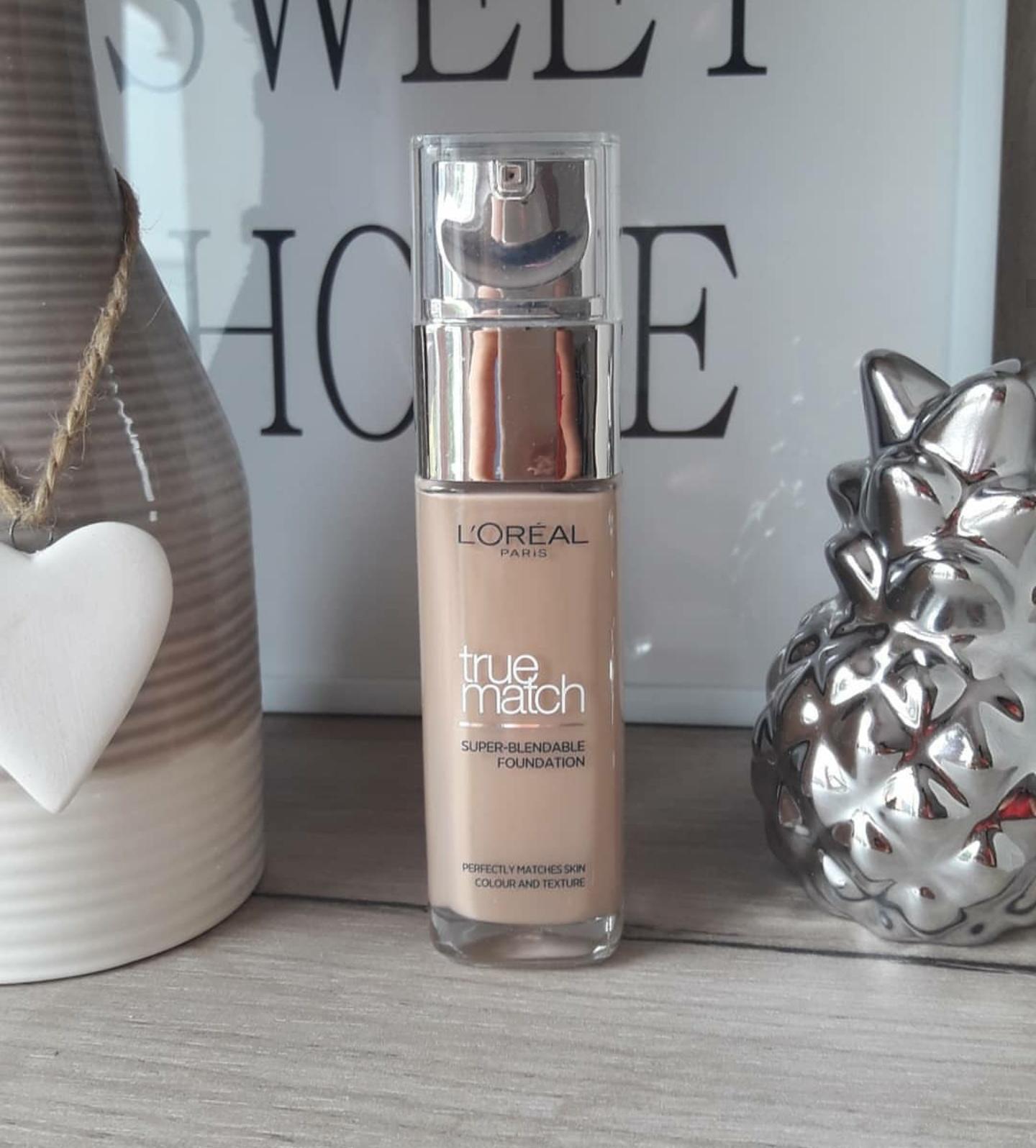 L'oreal Paris True Match Super Blendable Makeup Liquid Foundation-Medium coverage blendable foundation-By garima.sharma28-3