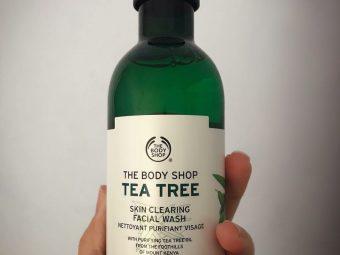 The Body Shop Tea Tree Skin Clearing Facial Wash pic 1-Tea tree skin clearing face wash-By garima.sharma28