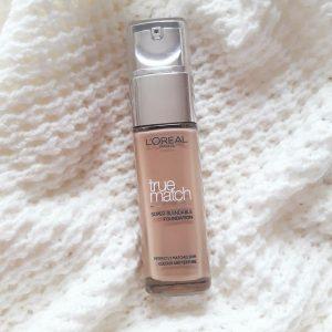 L'oreal Paris True Match Super Blendable Makeup Liquid Foundation pic 1-Medium coverage blendable foundation-By garima.sharma28