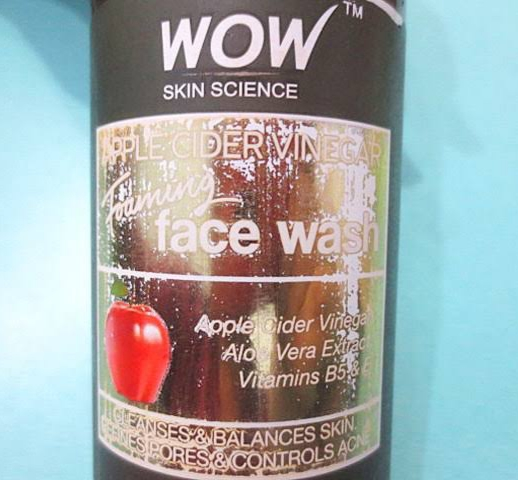 WOW Skin Science Apple Cider Vinegar Foaming Face Wash-All Natural-By priya_dey91