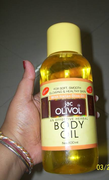 Jac Olivol Body Oil-Best body oil-By umadevi