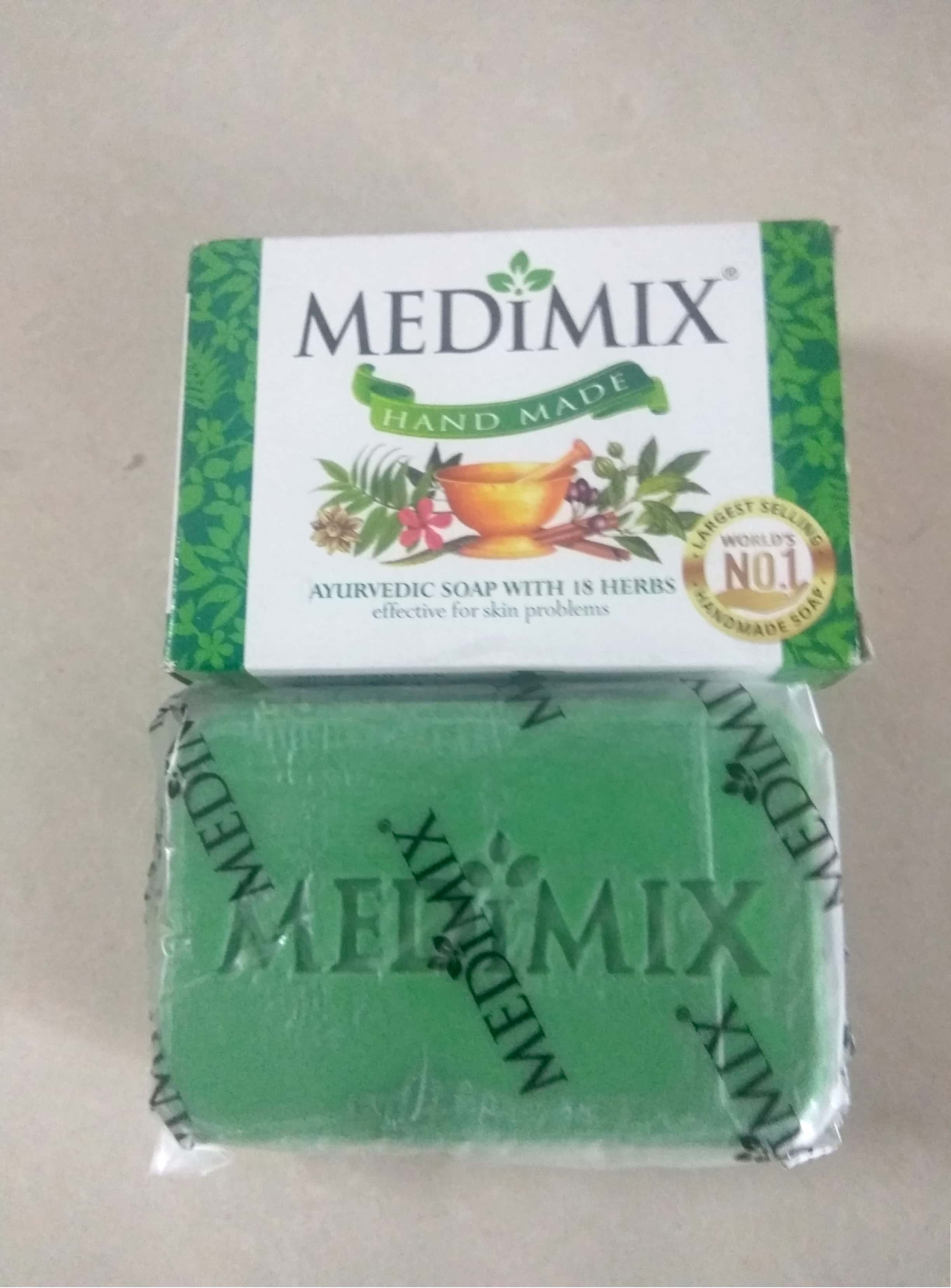 Medimix Ayurvedic 18 Herb Soap pic 1-Herbal product-By stylecp