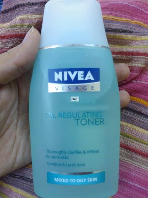 Nivea Visage Oil Regulating Toner-Best nivea toner-By umadevi