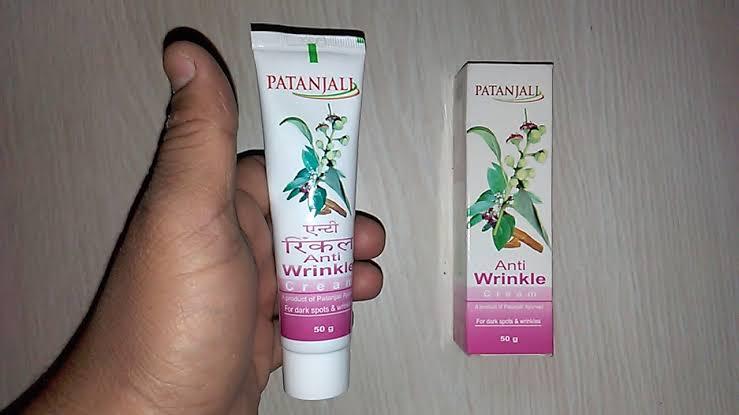 Patanjali Anti Wrinkle Cream-best Ayurvedic wrinkle cream-By umadevi