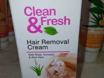 Patanjali Clean and Fresh Hair Removal Cream -Good one by patanjali-By umadevi