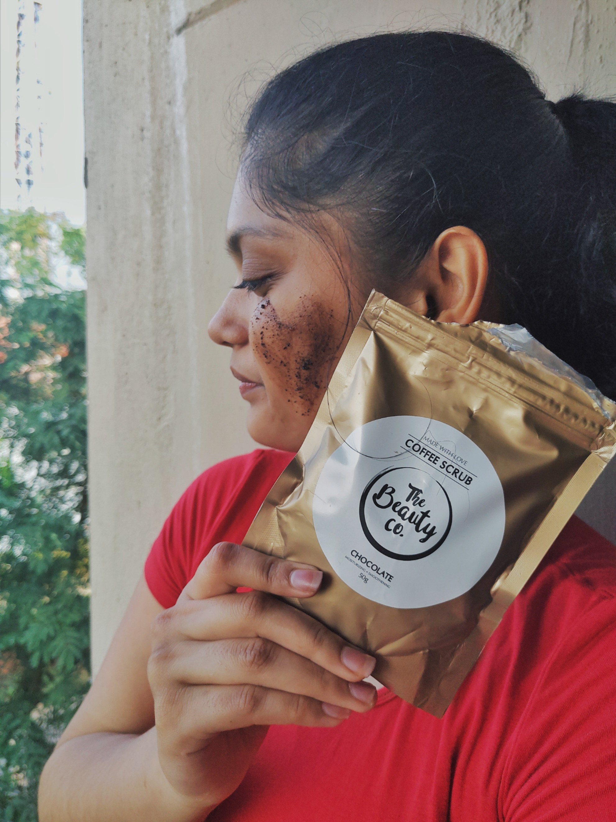The Beauty Co. Chocolate Coffee Scrub-A must try product-By jyoti_kishor