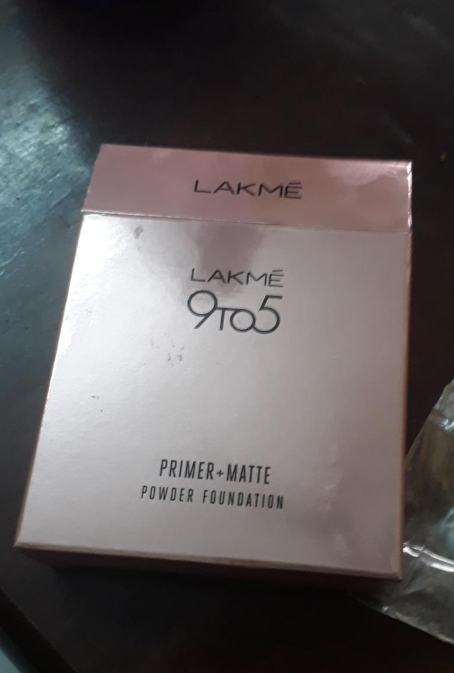 Lakme 9 To 5 Primer + Matte Powder Foundation Compact-Lakme 9 To 5 Primer and Matte Powder Foundation Compact-By aneesha