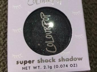 ColourPop Super Shock Eyeshadow -ColourPop Super Shock Eyeshadow-By aneesha