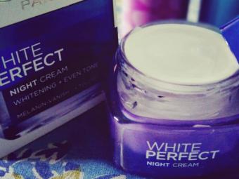 L'Oreal Paris White Perfect Night Cream -Perfect night cream-By lilgirl27