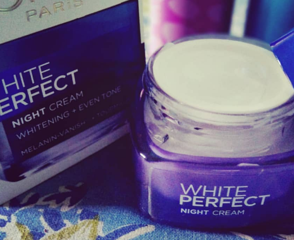 L'Oreal Paris White Perfect Night Cream-Perfect night cream-By lilgirl27