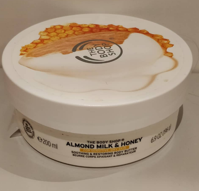The Body Shop Almond Milk And Honey Soothing & Restoring Body Lotion-Holy grail lotion-By lilgirl27