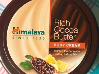 Himalaya Herbals Rich Cocoa Butter Body Cream -Best body butter-By lilgirl27