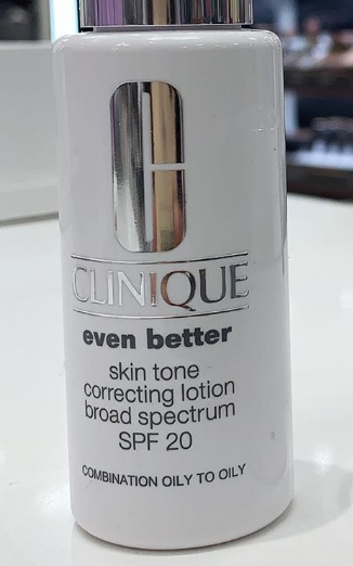 Clinique Even Better Skin Tone Correcting Lotion SPF 20-Does as the name saya-By lilgirl27