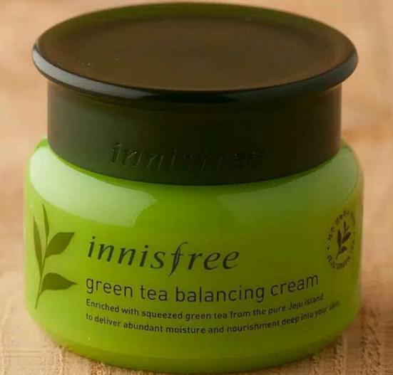 Innisfree The Green Tea Seed Cream -Green tea cream-By lilgirl27
