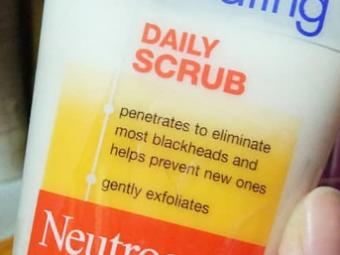 Neutrogena Deep Clean Blackhead Eliminating Daily Scrub -Blackhead scrub-By lilgirl27
