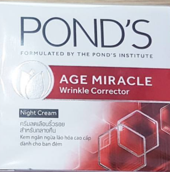 Ponds Age Miracle Wrinkle Corrector Night Cream -Night cream for youthful skin-By lilgirl27