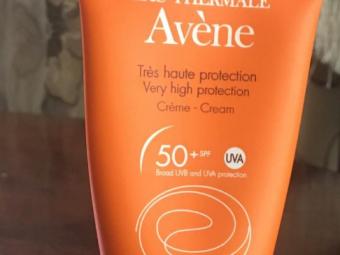 Avene Very High Protection Cream Spf 50+ -Great for veey high sunrays-By lilgirl27