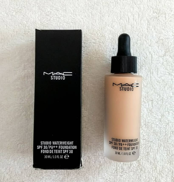MAC Studio Waterweight Foundation-Water based Foundation-By lilgirl27