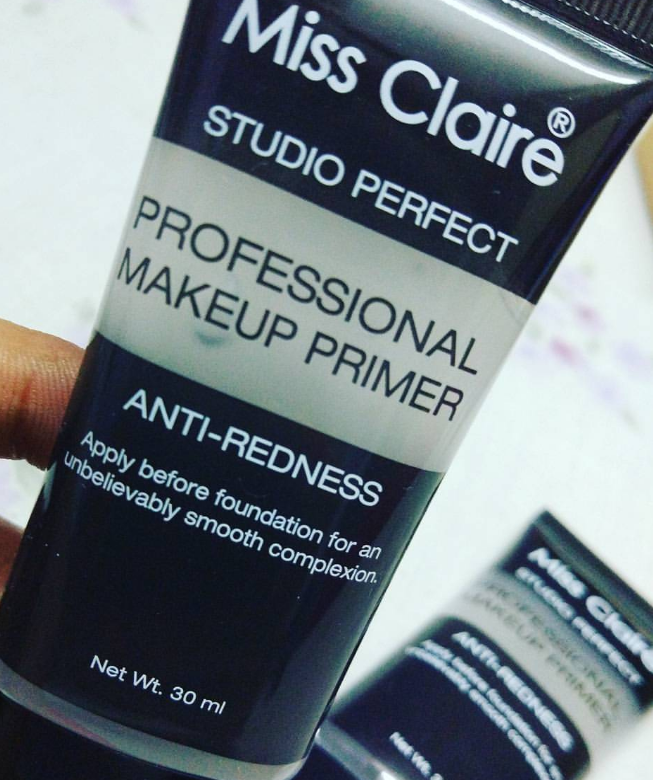 Miss Claire Studio Perfect Professional Makeup Primer -Pore munimizing primer-By lilgirl27