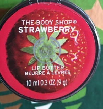The Body Shop Strawberry Lip Butter -Strawberry lip balm-By lilgirl27