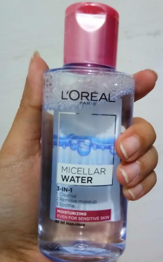 L'Oreal Paris Micellar Cleansing Water-Loreal paris makeup remover-By lilgirl27