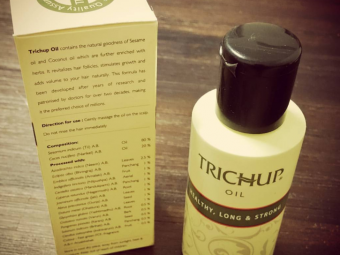 Trichup Healthy Long and Strong Hair Oil -Good for hair growth-By lilgirl27