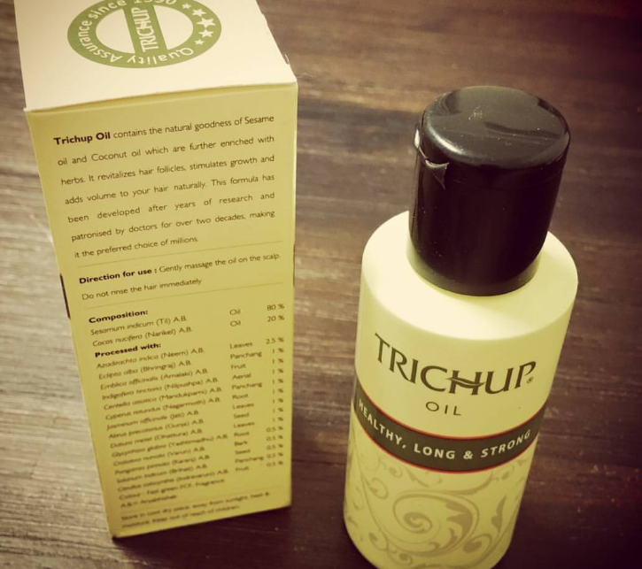 Trichup Healthy Long and Strong Hair Oil-Good for hair growth-By lilgirl27
