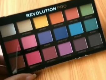Makeup Revolution Ultra 32 Eyeshadow Palette -Best eyeshadow palette-By lilgirl27
