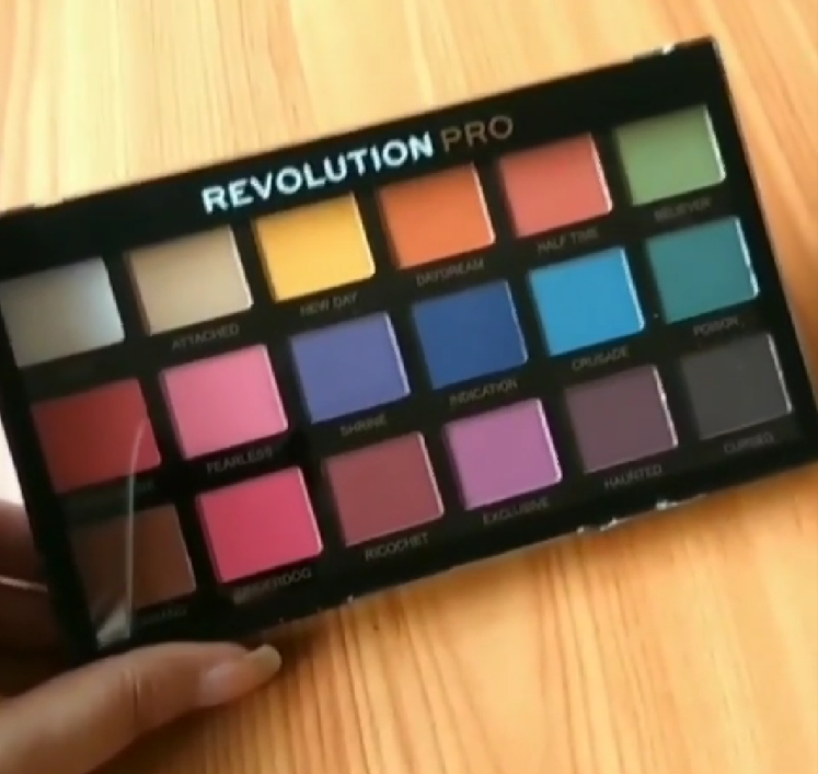 Makeup Revolution Ultra 32 Eyeshadow Palette -Best eyeshadow palette-By lilgirl27