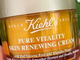 Kiehl's Pure Vitality Skin Renewing Cream -Helps in renewing skin cells-By lilgirl27