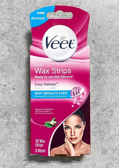 Veet Cold Wax Strips – Instant Waxing Kit-Quick fix for hair removal-By lilgirl27