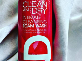 Clean & Dry Intimate Cleansing Foam Wash -Very essential-By lilgirl27