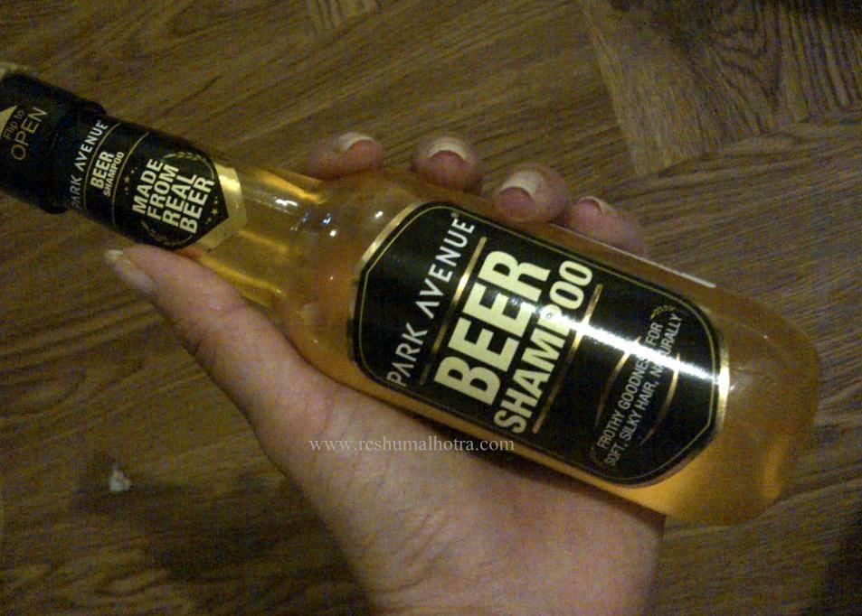 Park Avenue Beer Shampoo -good shampoo-By avyuktha