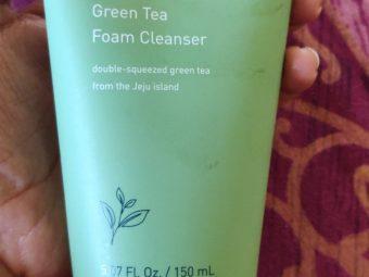Innisfree Green Tea Cleansing Foam -Green Tea Face Wash-By pooja_saboo