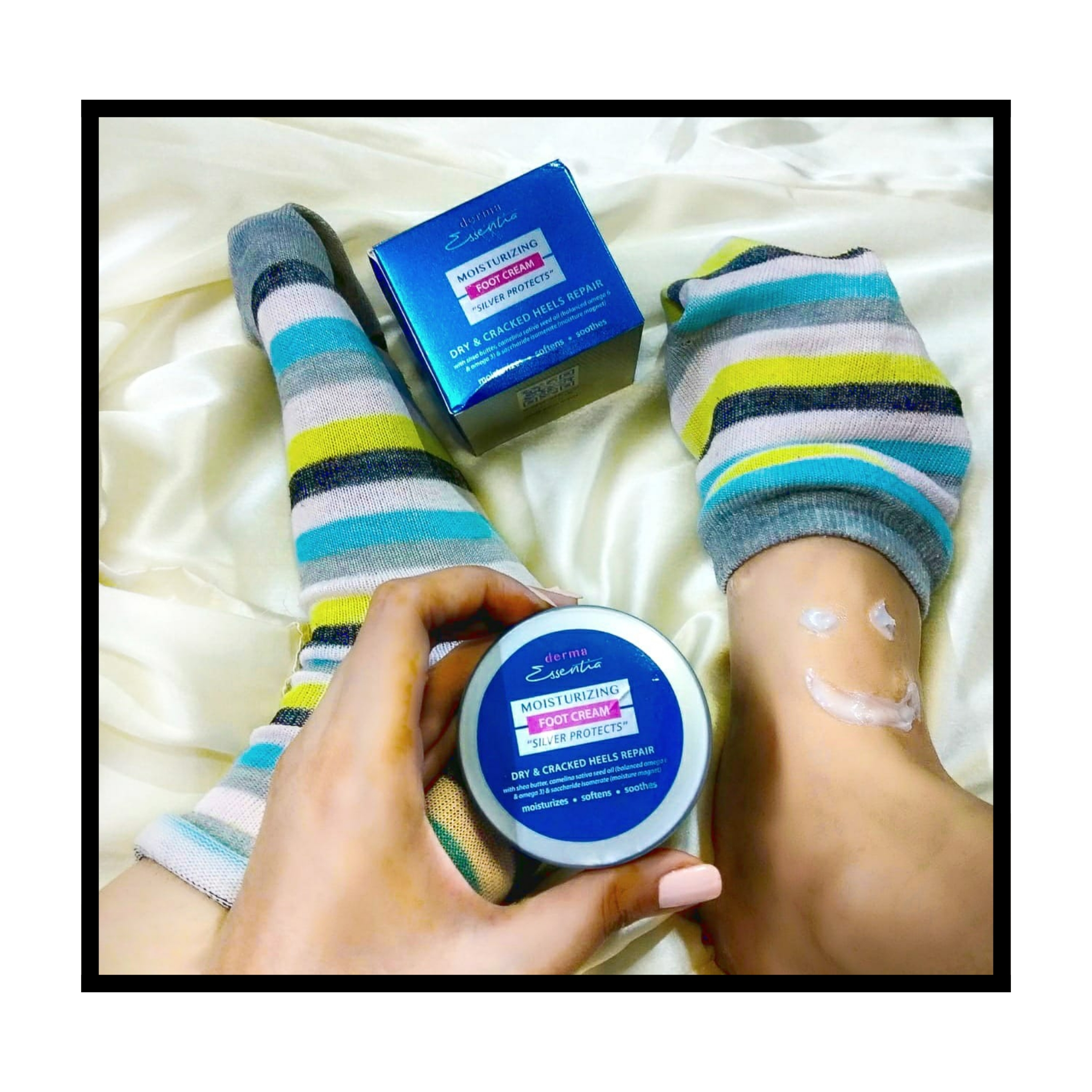 Derma Essentia Moisturizing Foot Cream with Silver Protection-Get soft and smooth heels to flaunt.-By sanchari_de-2
