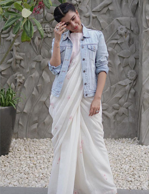traditional styles of saree draping