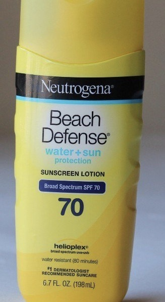 Neutrogena Beach Defense Sunscreen Lotion Broad Spectrum SPF 70 -No tanning-By ritikajilka1991