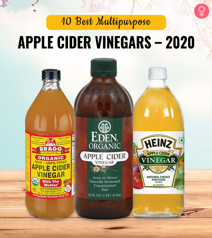 10 Best Multipurpose Apple Cider Vinegars – 2020