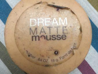 Maybelline Dream Matte Mousse Foundation -Maybelline matte mousse-By ritikajilka1991