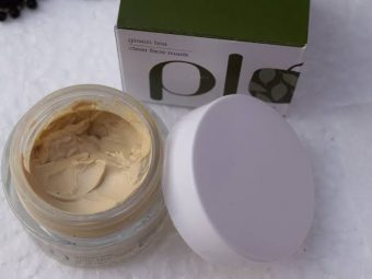 Plum Green Tea Clear Face Mask -Great-By pogostylecase