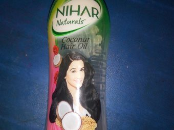 Nihar Naturals Coconut Oil -Nihar Naturals Coconut Oil-By aneesha