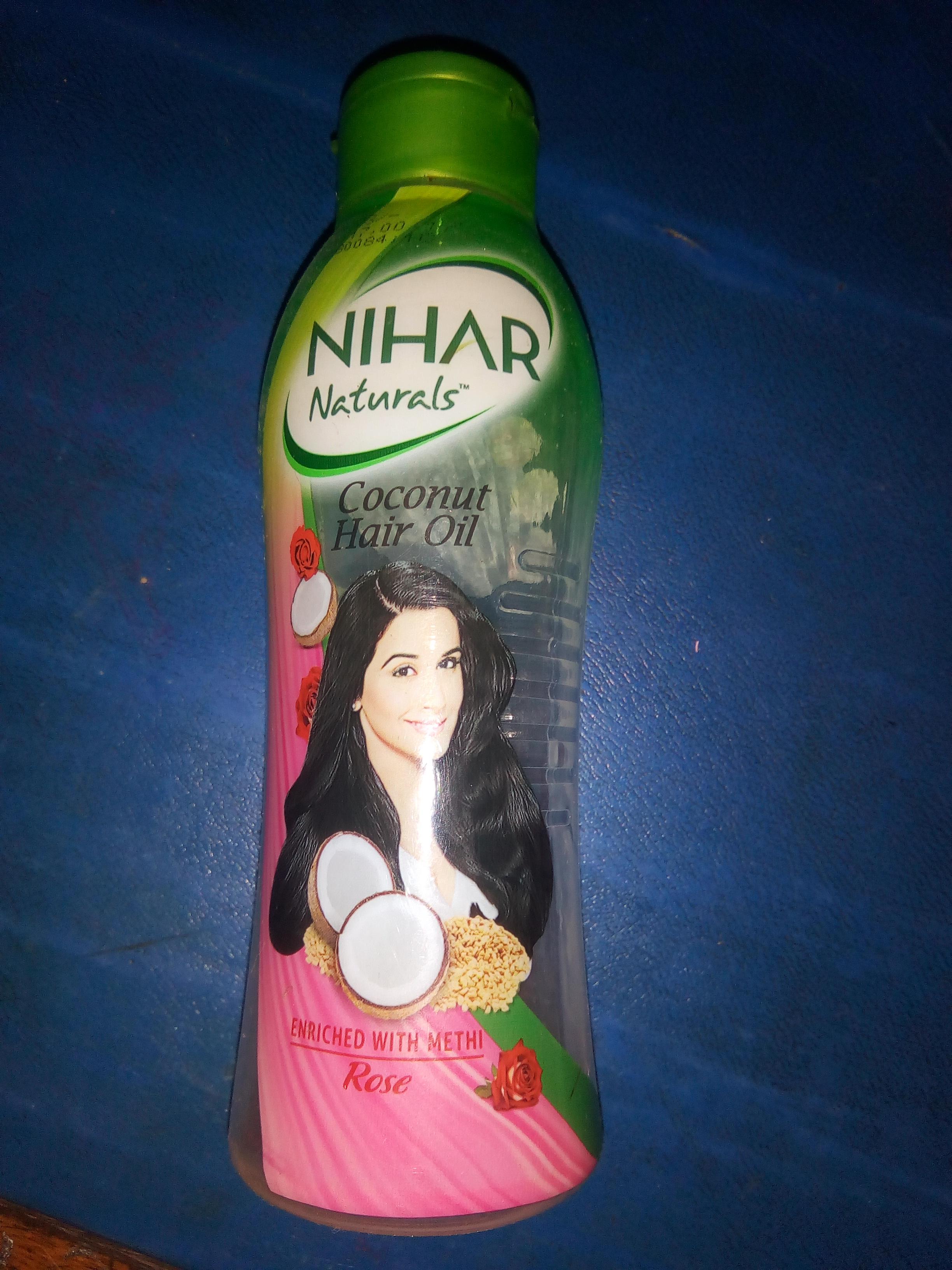Nihar Naturals Coconut Oil-Nihar Naturals Coconut Oil-By aneesha