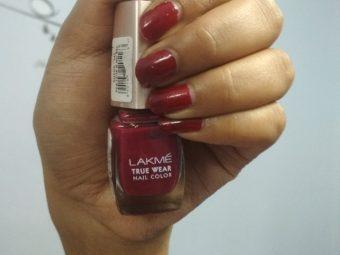 Lakme True Wear Nail Color -Lakme nailpolish-By mitshu98